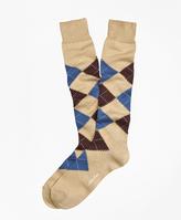 Brooks Brothers Argyle Over-the-Calf Socks