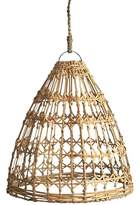 Natural Flat Rattan Lamp Shade