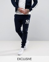 Majestic Yankees Skinny Joggers Exclusive To Asos