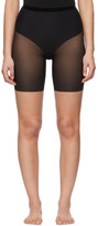 Wolford Black Tulle Control Shorts