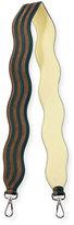 Fendi Strap You Wave Shoulder Strap for Handbag, Navy/Turquoise