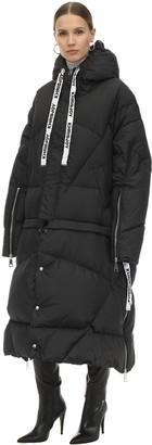 KHRISJOY Quilted Down Jacket