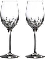 Waterford Lismore Giftware 2-Piece Crystal White Wine Glass Set