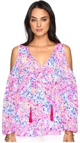 Lilly Pulitzer Finch Top Women's Clothing
