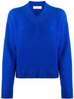Pringle v-neck dropped-shoulder sweater