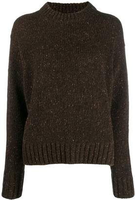 Joseph speckled knitted jumper