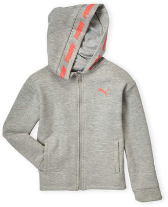 Puma Girls 7-16) Slant Sports Pack Fleece Hoodie