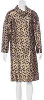 Dries Van Noten Brocade Button-Up Coat