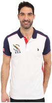 U.S. Polo Assn. Classic Fit Color Block Polo Shirt