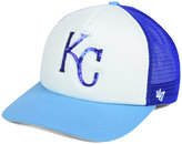 '47 Women's Kansas City Royals Glimmer Captain Snapback Cap