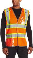 Caterpillar Men's 5-Point Breakaway Safety Vest