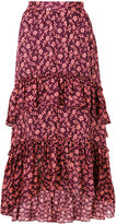 Ulla Johnson floral pleated skirt