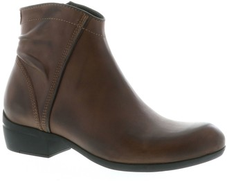 Wolky Side Zip Leather Boots - Winchester