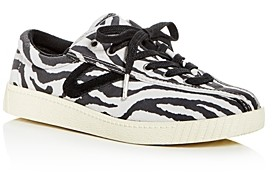 Tretorn Women's Nylite 37 Plus Zebra Low-Top Sneakers