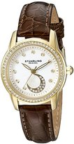 Stuhrling Original Women's 561.04 Countess Analog Display Quartz Brown Watch