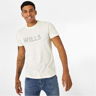 Jack Wills Manorhill Short Sleeve Graphic T-Shirt