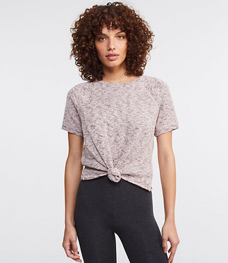 Lou & Grey Marled Knotted Top