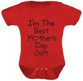 TeeStars - I'm The Best Mother's Day Gift - Cute Bodysuit Unisex Baby Onesie