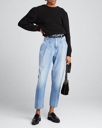 TRE by Natalie Ratabesi Light Wash High-Rise Jeans