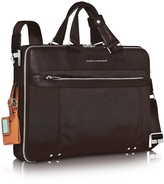 "Piquadro Link - Double Handle 17"" Laptop Case"