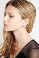 BCBGeneration Rhinestone Pave Ear Cuffs - Silver