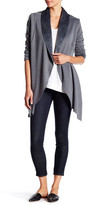 Bobi Draped Open Fleece Cardigan