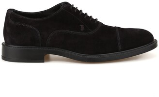 Tod's Suede Lace Up Shoes