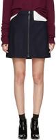 Acne Studios Navy Suraya Miniskirt