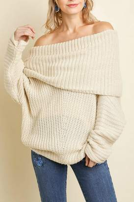 Umgee USA Sexy Ribbed Sweater