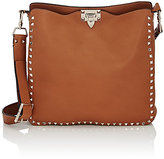 Valentino Women's Rockstud Messenger Bag-TAN