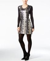Calvin Klein Jeans Sequined Bodycon Dress