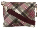 Vivienne Westwood Derby Plaid Crossbody Bag