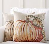 Pottery Barn Applique Pumpkin Pillow Covers
