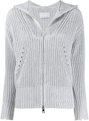 Zadig & Voltaire Rear Contrasting Patch Cardigan