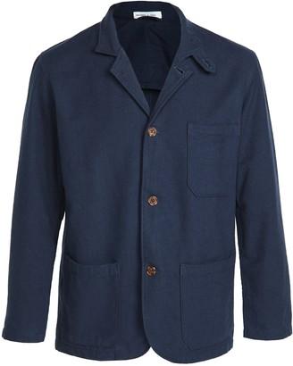 Portuguese Flannel Heavy Cotton Working Blazer