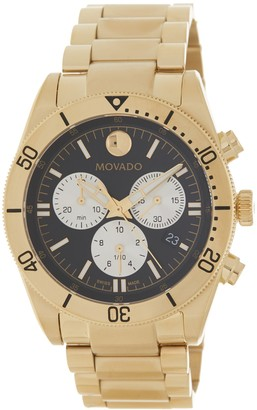 Movado Men's Sport Series PVD Watch, 41mm