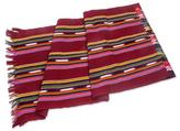 Hand Woven Cotton Table Runner in Red from Guatemala, 'Red Paths to Chichicastenango'