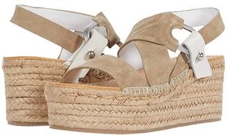 Rag & Bone August Platform Espadrille (Light Sand) Women's Shoes