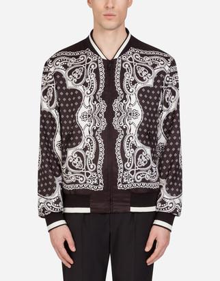 Dolce & Gabbana Bandana Print Jacket