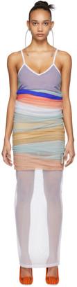 Y/Project Multicolor Rainbow Dress