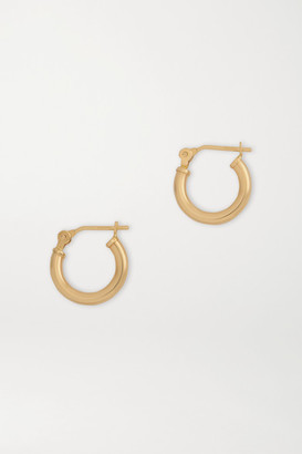 Loren Stewart Gold Hoop Earrings