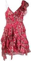 Isabel Marant asymmetric ruffle dress