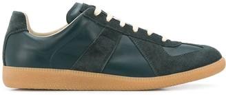 Maison Margiela Suede Low-Top Sneakers