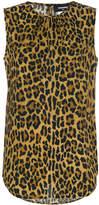 DSQUARED2 leopard print blouse