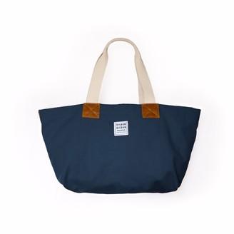 Risdon & Risdon British Navy Canvas & Leather Bag