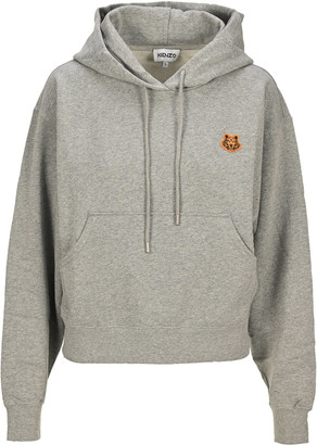 Kenzo Tiger Crest Boxy Hooded Sweatshirt