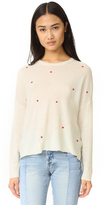 Sundry Little Hearts Crew Neck Sweater