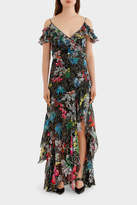 Peter Pilotto Georgette Strap Gown