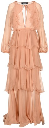 DSQUARED2 Dsqaured2 Sheer Flounce Gown