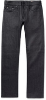 Jean Shop Mick Slim-Fit Raw Selvedge Denim Jeans